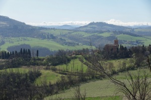 I've sent a few weeks walking in the hills near Boligna trying to get a bit fitter !