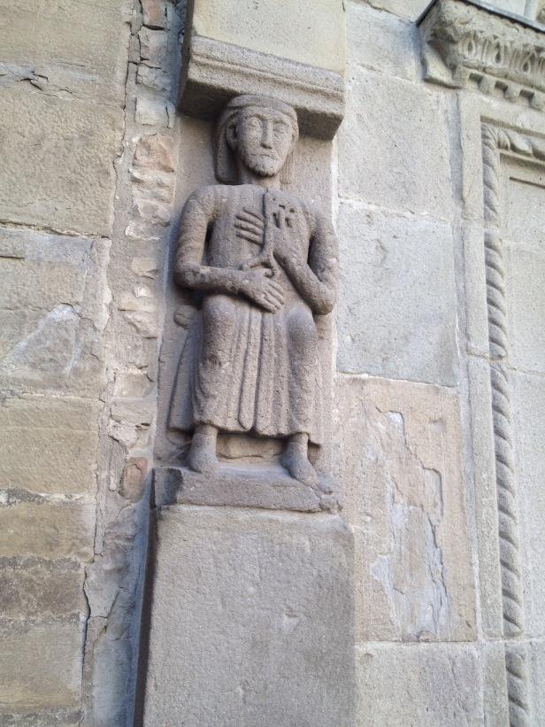 Saint Peter statue Berceto