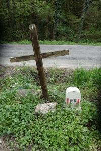 Via Franvigena sign