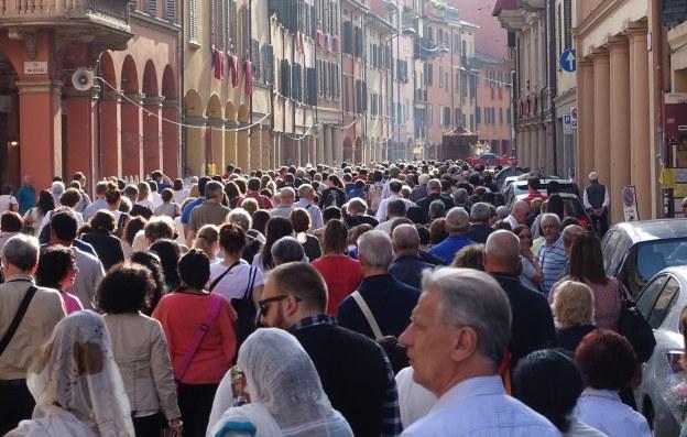 Bologna San Luca Madonna icon procession