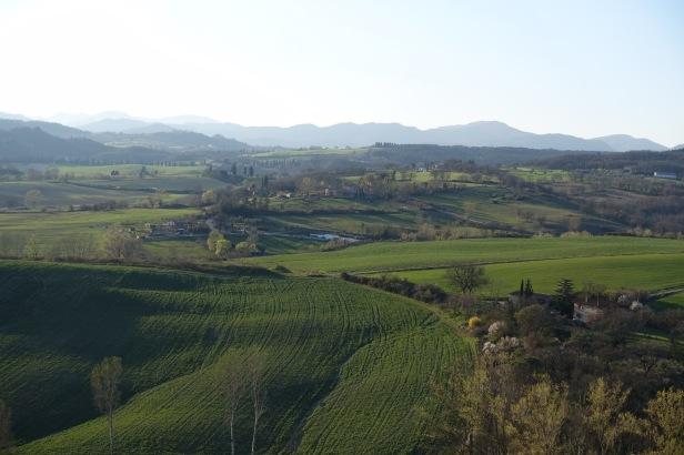 Via degli dei walk Tuscany