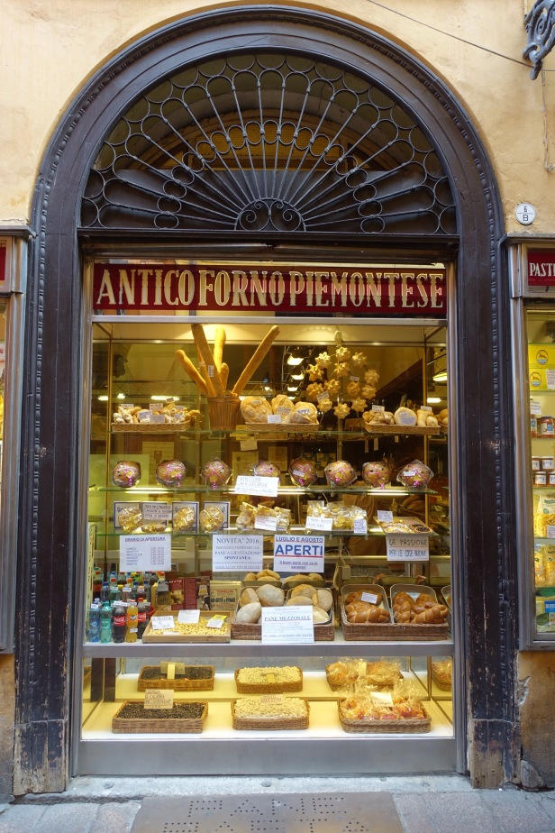 Bologna shop signs Italy