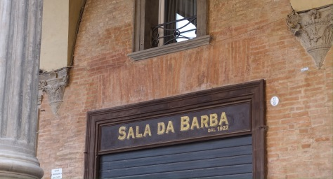 bologna shop sign Italy