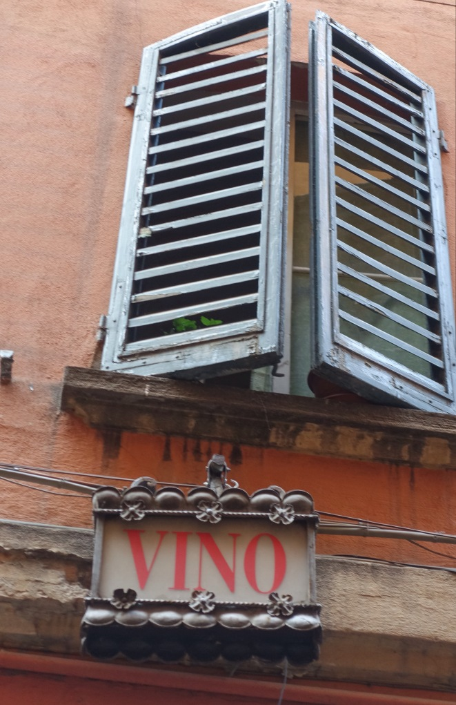 Osteria Sole Bologna Italy sign