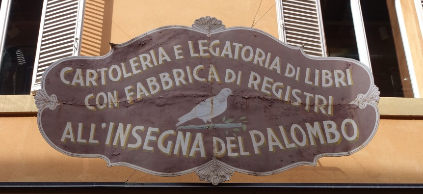 bologna shop signs