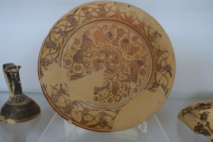 Ithaca Greece museum plate