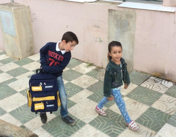 Guillemots school kids Via de la Plata