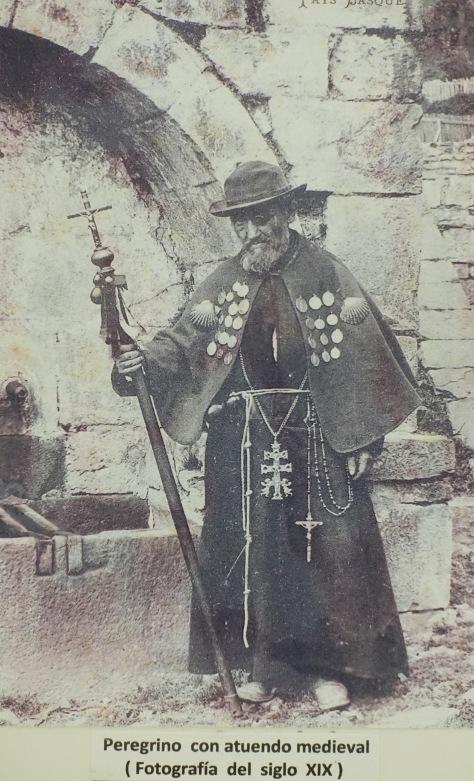 Spanish pilgrim 19th. century