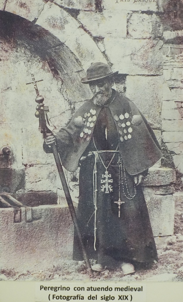 Spanish pilgrim 19th. century