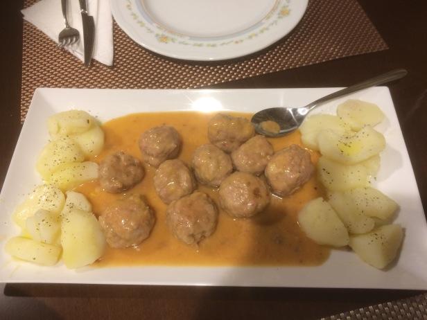 Meatballs Camino Sanabrés Albondigas