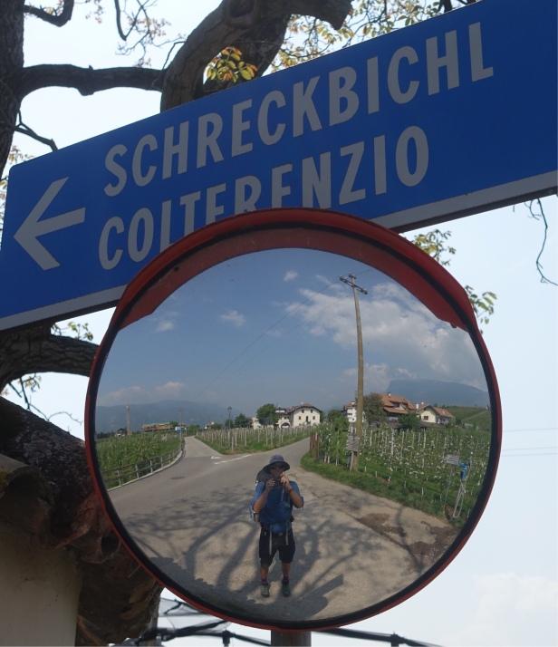 Via romea Germanica Termeno