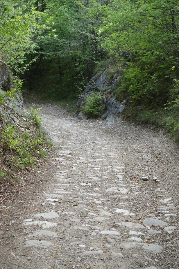 Via romea Germanica Trento italy