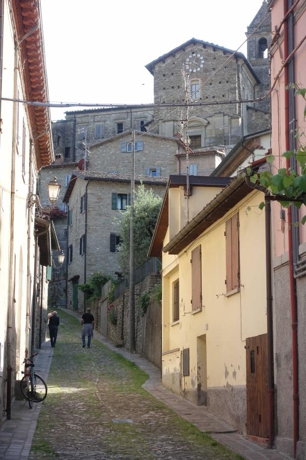 Via romea Germanica cusercoli italy