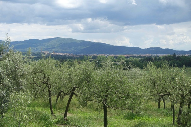 Via romea Germanica Rezzo italy
