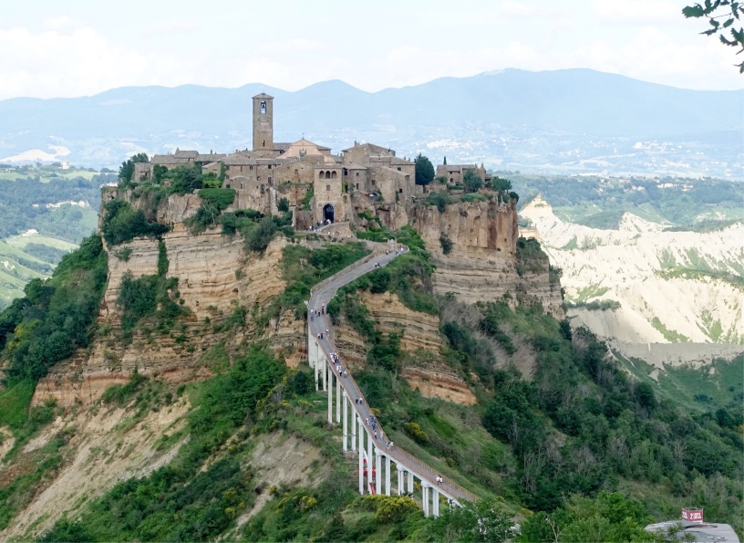 Via Romea Germanica Civita di Bagnoregio