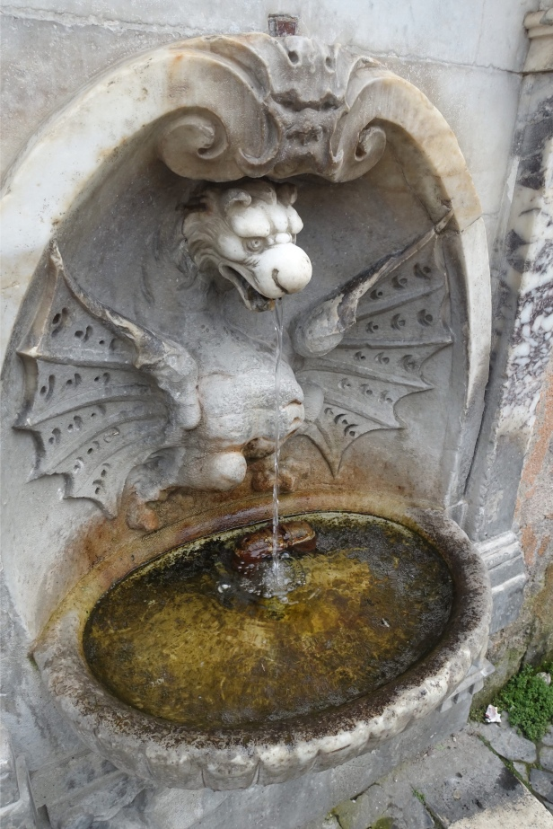 Via romea germanica fountain