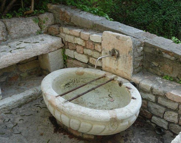 Via Romea germanica fountain