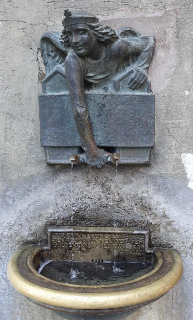 Via romea germanica fountain Innsbruck