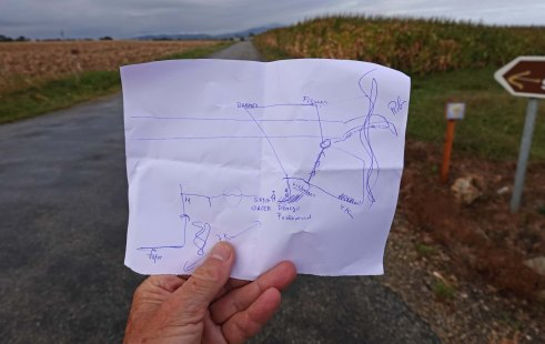 hand drawn map blog